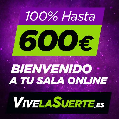 Vivalasuerte Casino 5 euros GRATIS